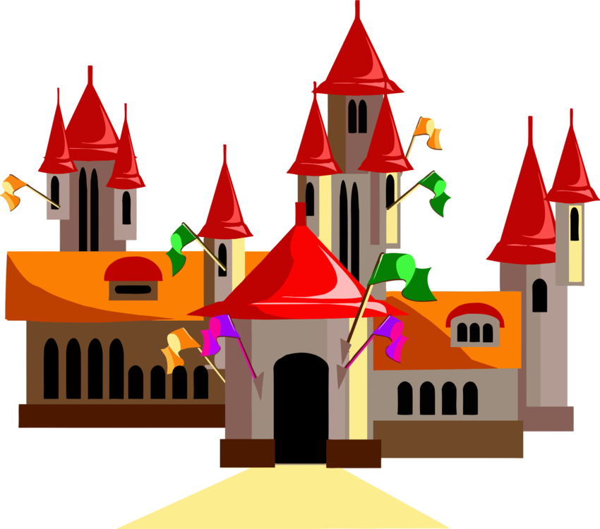 850x750 Best Fairy Tale Castle Vector Free Download Image Collection