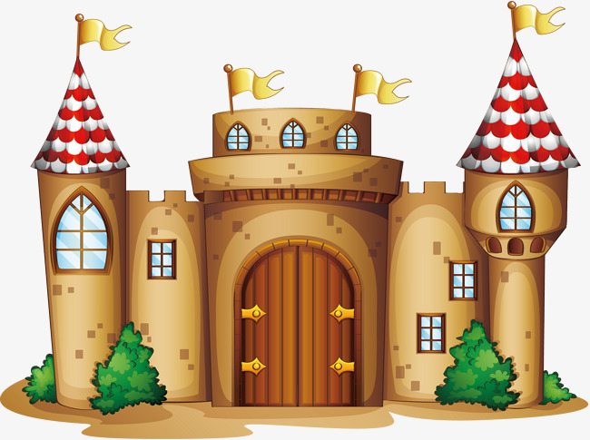650x485 Cartoon Castle, Vector Material, Castle, Wall Png And Vector For