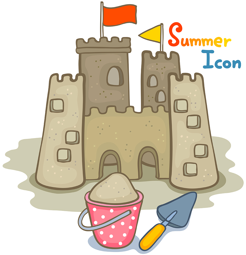 1000x1036 Cartoon Castle Vector Free Download Ai Files