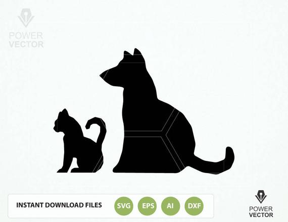 570x440 Dog Svg. Cat Svg File. Pet Dxf Cut Files . Dog Png. Cat Dog Etsy