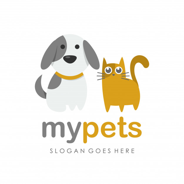 626x626 Kitty Cat, Dog And Pet Shop Logo Vector Premium Download
