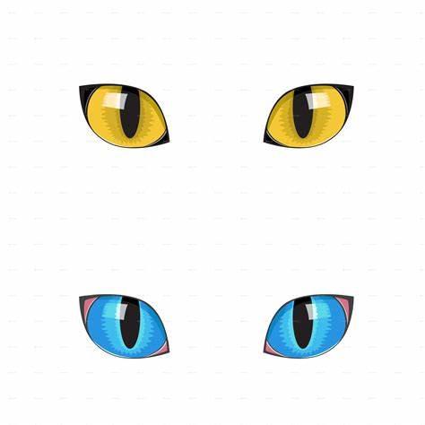 474x474 Cat Eyes Vector. Royalty Free Cat Eye Clip Art
