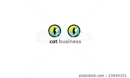 450x272 Cat Eyes Vector Logo Sign