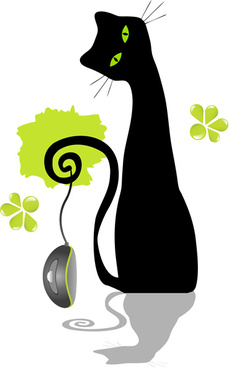 229x368 Black Cat Eye Free Vector Download (8,181 Free Vector) For