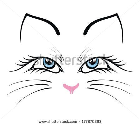 450x403 Cat Face Drawing Free Vector For Free Download About (23) Free