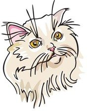 180x224 Free Cat Face Clipart And Vector Graphics