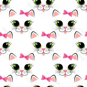 300x300 Stylized Simple Silhouette Of Cats Face Vector Clipart Arenawp