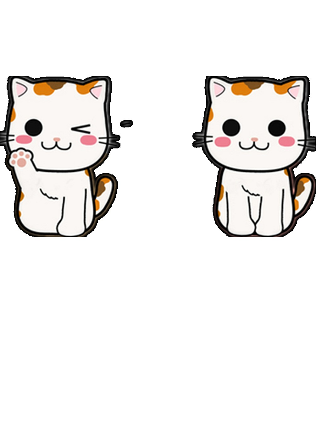 1024x1364 Cartoon Lucky Cat Vector Image Free Download Png Files
