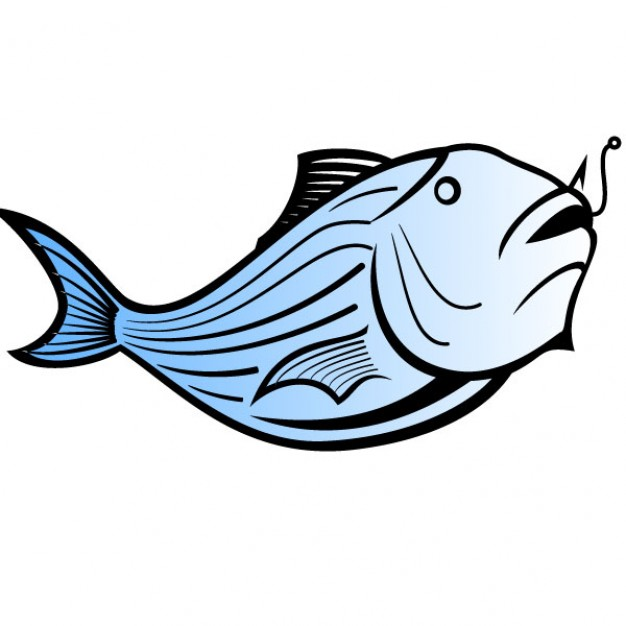 626x626 Blue Catfish Vector Illustration Vector Free Download