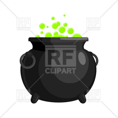 400x400 Magic Witch Cauldron Vector Image Vector Artwork Of Objects