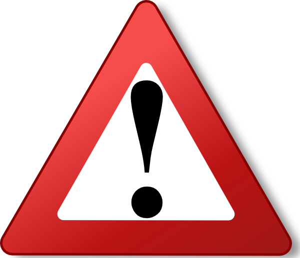 Caution Symbol Vector