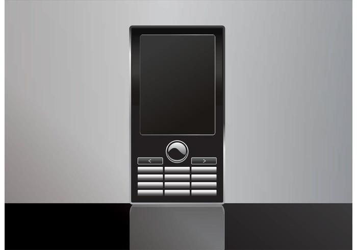 700x490 Free Mobile Phone Vector
