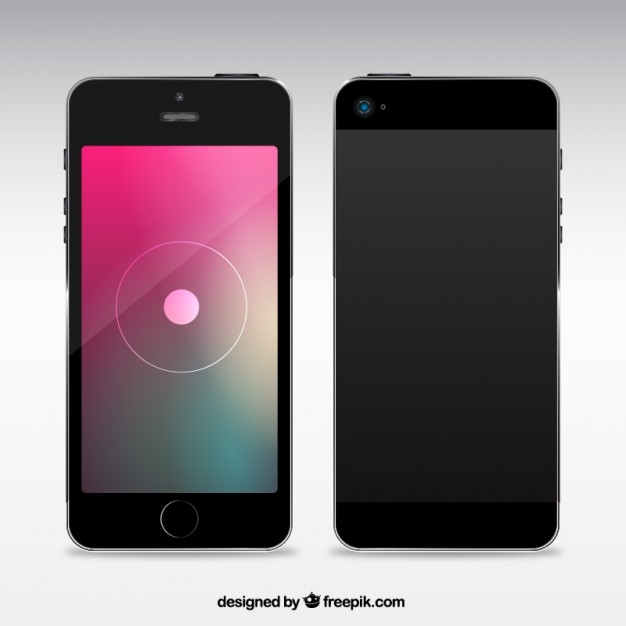 626x626 Mobile Phone Vector Free Download