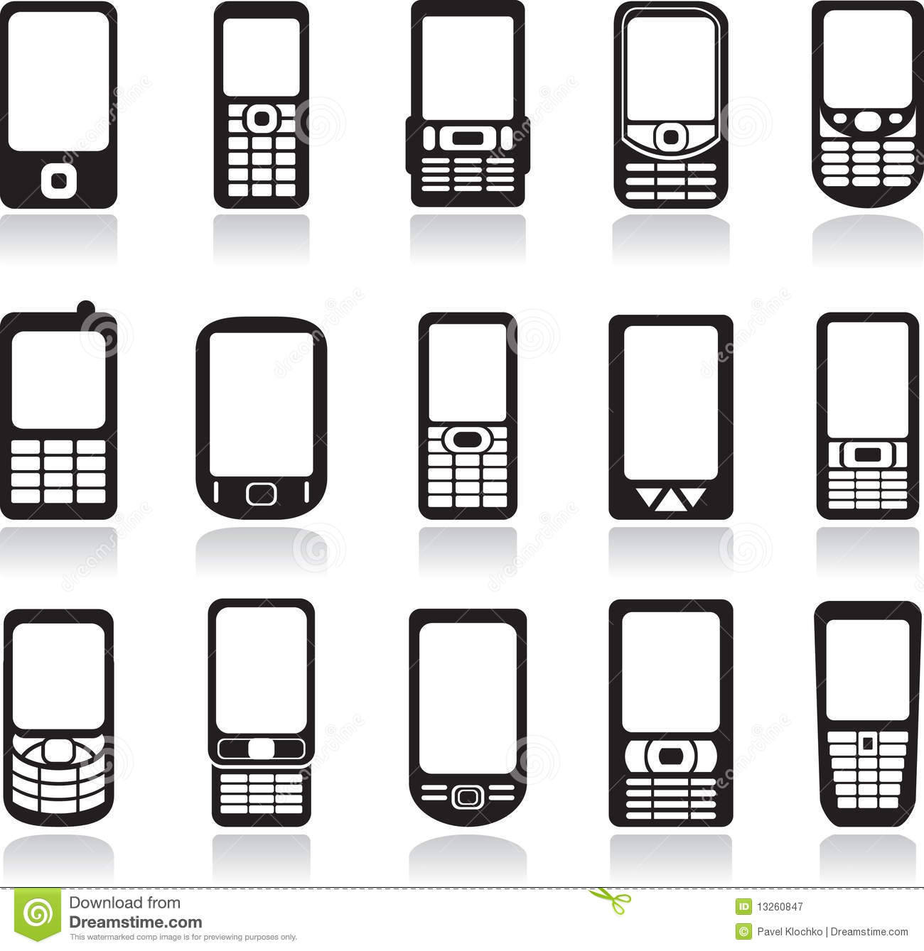 1300x1339 Phone Vector Free Icon