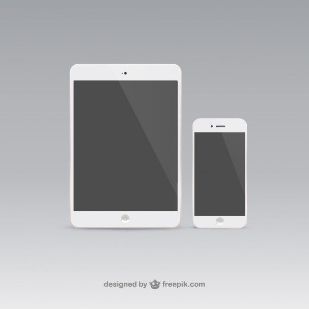 626x626 Tablet And Mobile Phone Vector Free Download