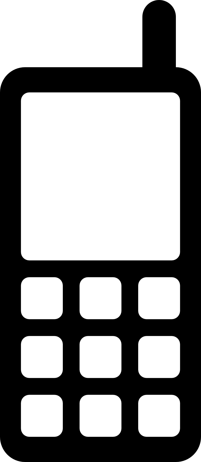 800x1833 Cell Phone Icons