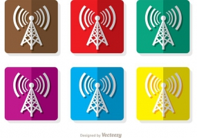 285x200 Cell Tower Icon Free Vector Graphic Art Free Download (Found