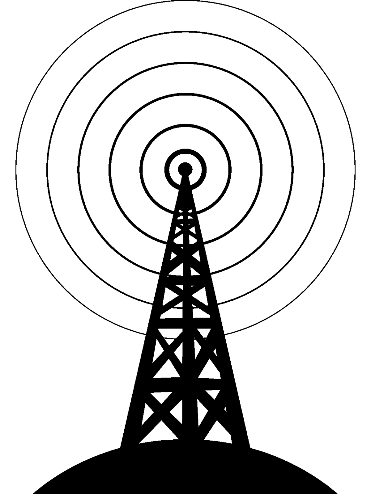 1200x1600 Collection Of Cell Phone Tower Drawing High Quality, Free