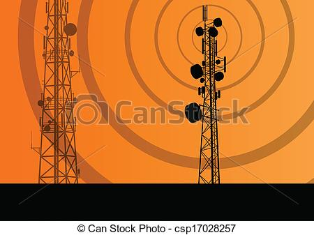 450x337 Telecommunications Radio Tower Or Mobile Phone Base Station