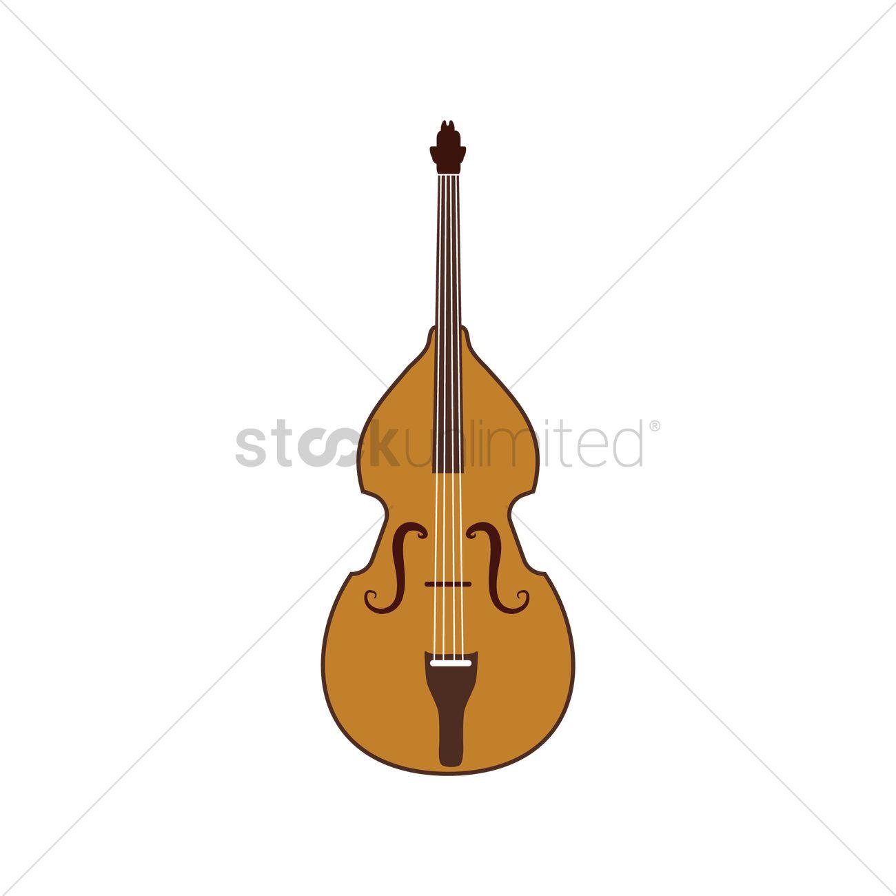 1300x1300 Cello Vector Image