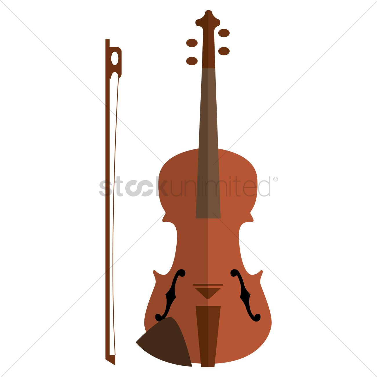 1300x1300 Classic Cello Vector Image