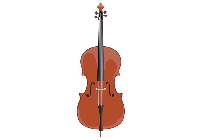 700x490 Free Cello Vector