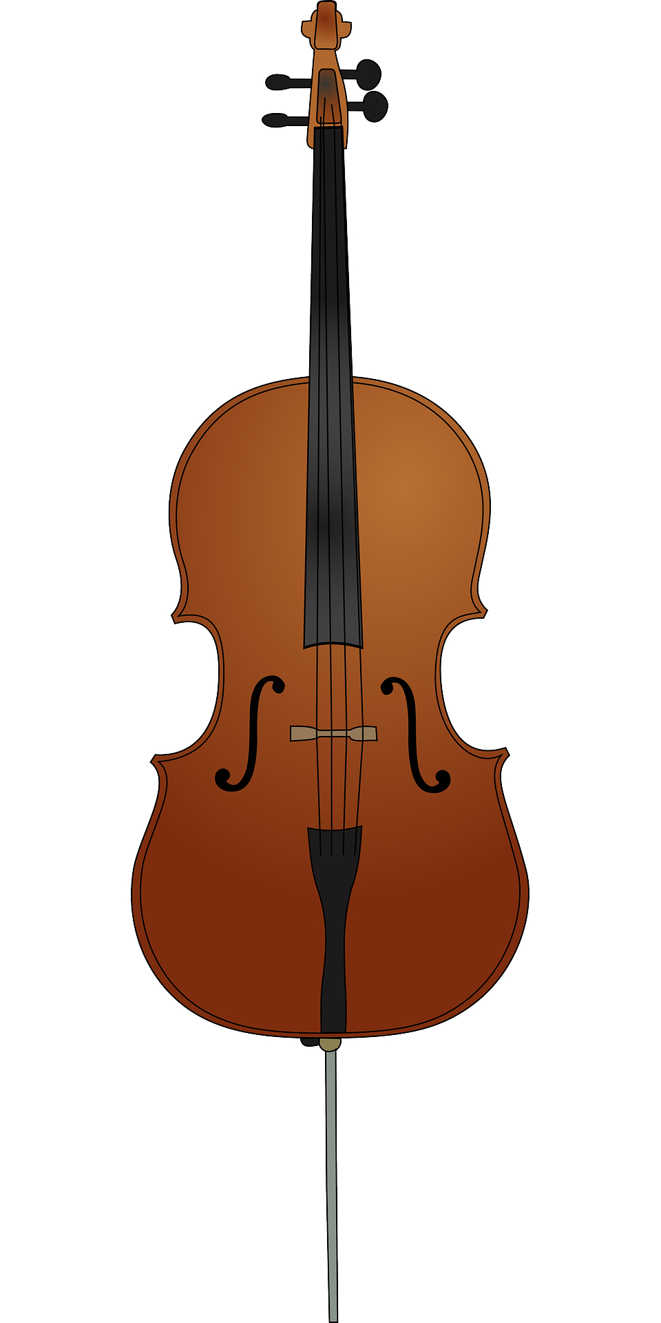 960x1920 Musical Instrument,brown Wooden Cello Vector Free Psd,vector,icons