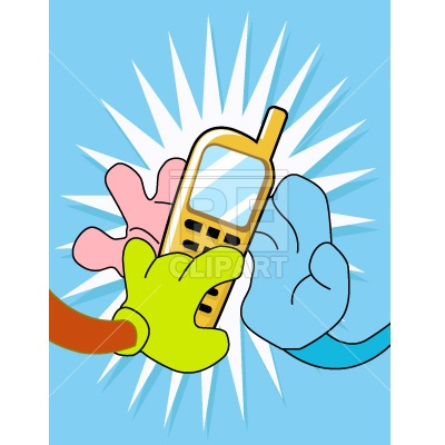 400x400 Hands And Cellphone Free Vector Image Vector Artwork Of Objects