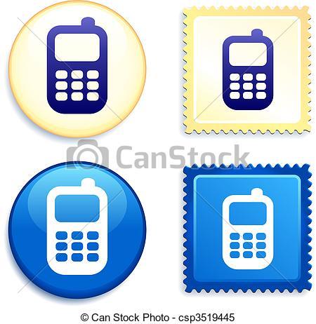 450x462 Logo Clipart Cellphone