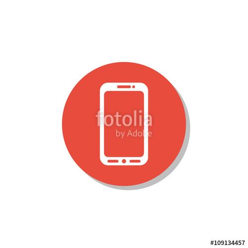 500x500 Cellphone Icon, Cellphone Symbol, Cellphone Vector, Cellphone Eps