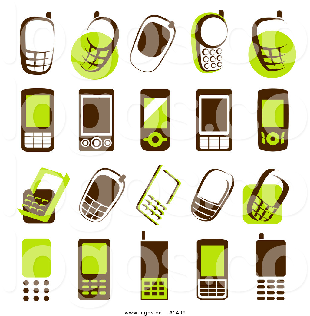 1024x1044 Cell Phone Vector Clipart