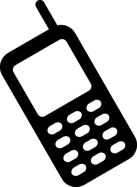 469x640 Cellphone Vector