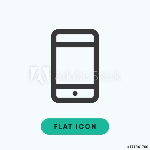 500x500 Cellphone Vector Icon