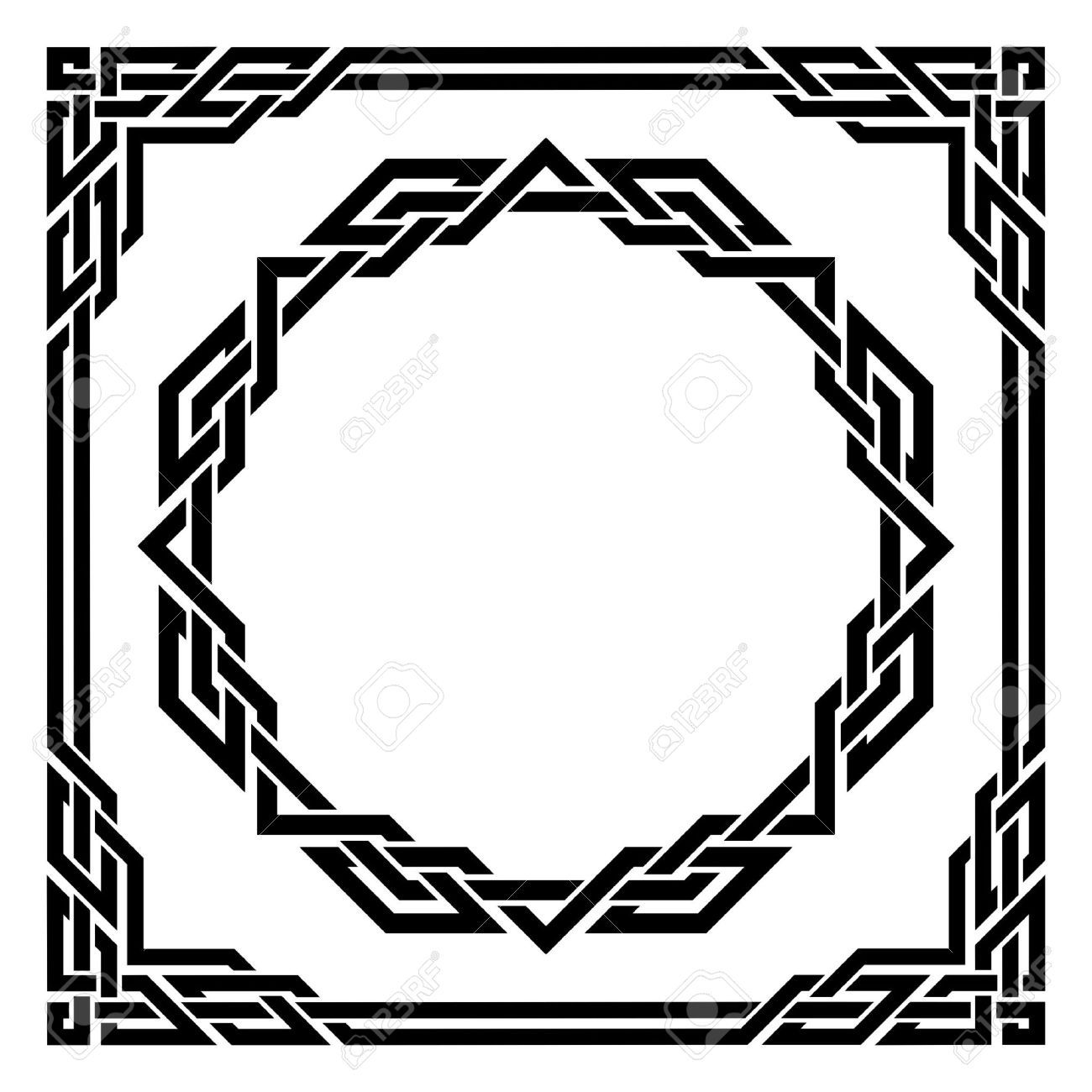 1300x1300 Celtic Border Images, Stock Pictures, Royalty Free Celtic Border