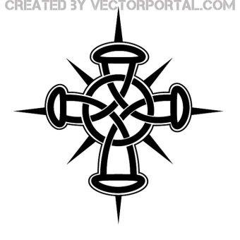 Celtic Cross Vector Free