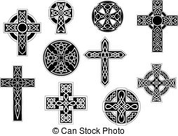 254x194 Celtic Cross Vector Vector Clipart Royalty Free. 3,930 Celtic