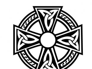 310x233 Dancing Around The Celtic Cross Clip Art Free Vectors Ui Download