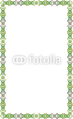 245x400 Celtic Knot Color Border Frame Vector On A White Background. Buy