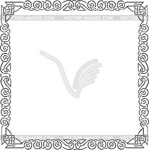 298x300 Celtic Square Frame
