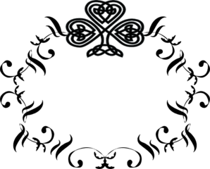 298x240 Collection Of Free Frame Vector Monogram. Download On Ubisafe