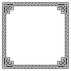 250x250 903363778 Celtic Frame Border Pattern Vector