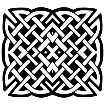 Celtic Knot Border Vector
