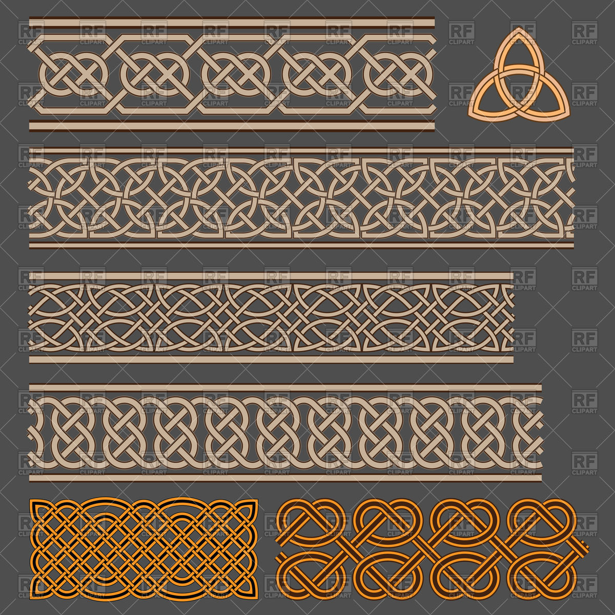 1200x1200 Celtic Knot Borders Vector Image Vector Artwork Of Borders And