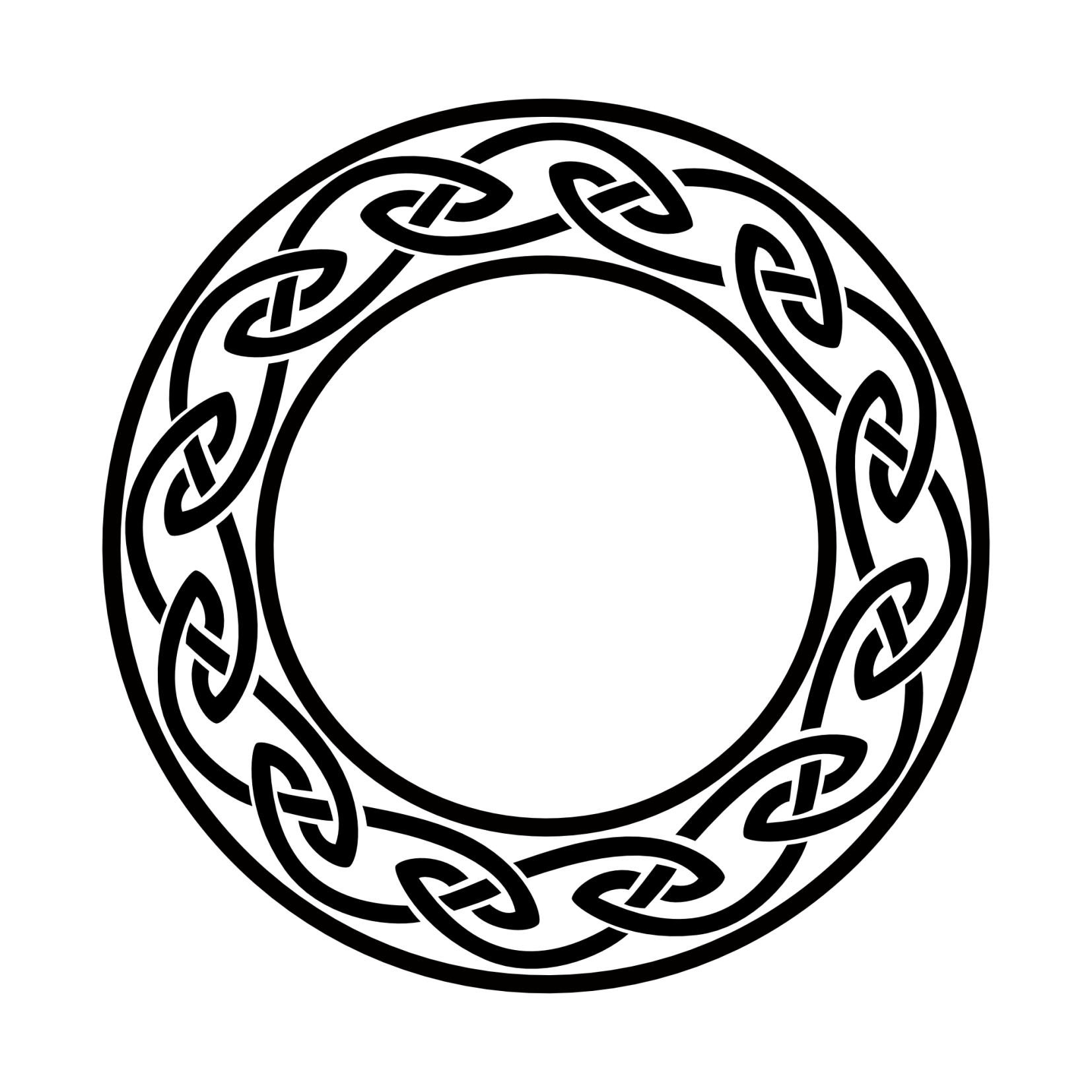 1654x1654 Circle Clipart Celtic Knot