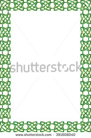 312x470 Celtic Knot Border Clip Art Stock Vector Celtic Knot Ornamental
