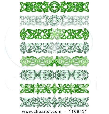450x470 Celtic Knot Border Knots Vector Medieval Seamless Borders Patterns