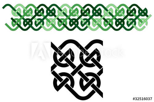 500x334 Celtic Knot Border