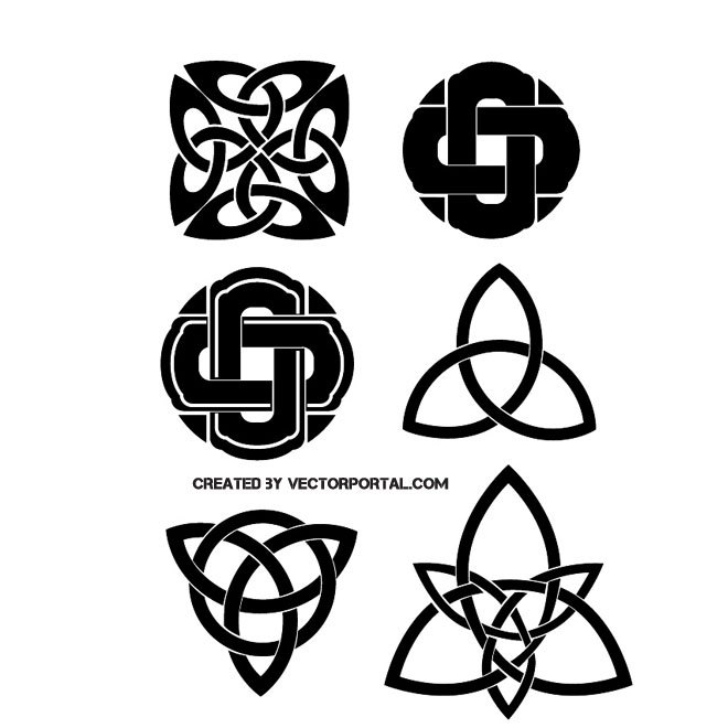 660x660 Celtic Knots Free Vector 123freevectors