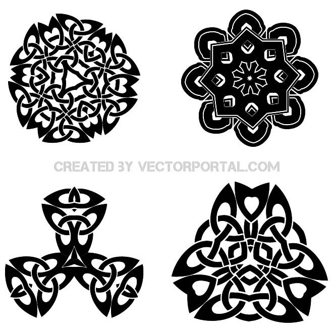 660x660 Free Celtic Knots Vector Pack.eps Psd Files, Vectors Amp Graphics