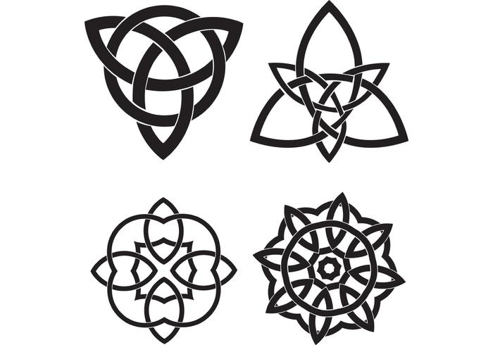 700x490 Celtic Knots Vector Set